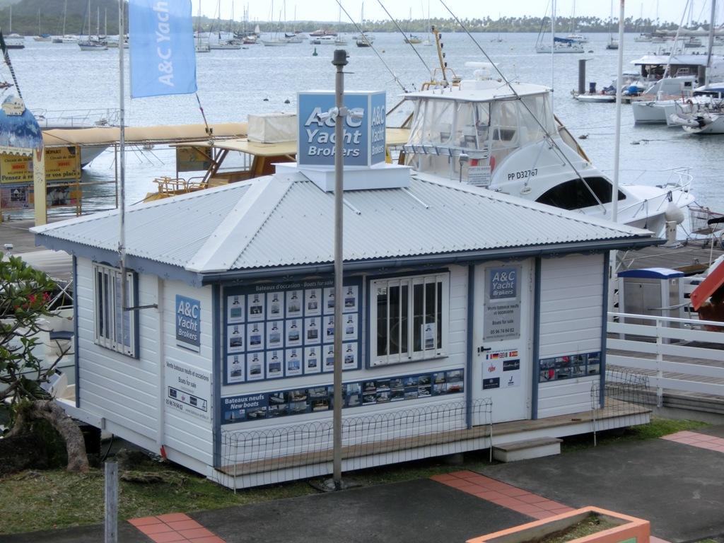 La petite maison créole d'A&C Yacht brokers vous accueille
