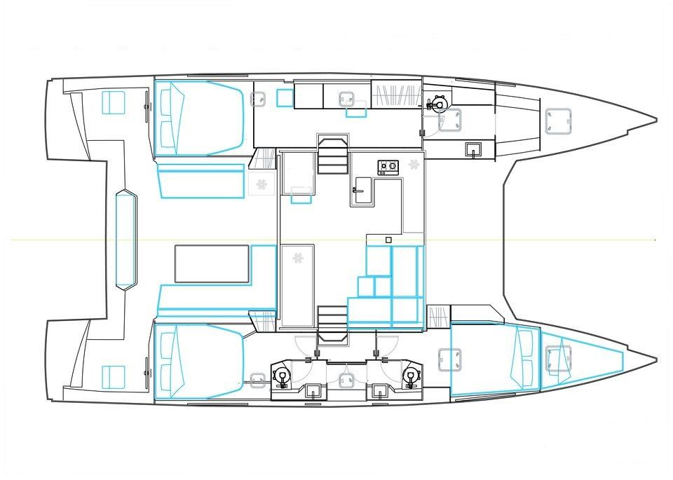 u00c0 vendre   bavaria catamarans nautitech 46 open  occasion