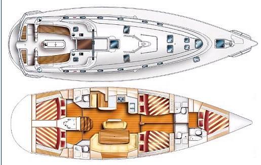 vendu   dufour yachts gib u0026 39 sea 51  occasion  129