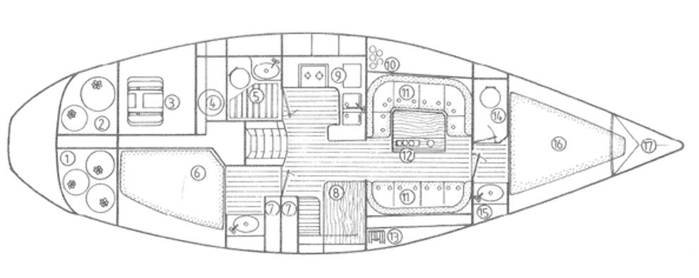 vendu jeanneau sun legend 41 occasion 421 a c yacht brokers acheter ou vendre votre. Black Bedroom Furniture Sets. Home Design Ideas