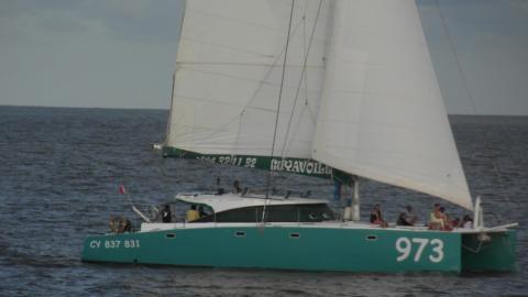 Multicap-Caraïbes Punch 17m : En navigation