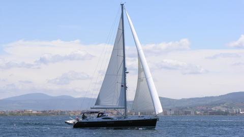 Sun Odyssey 54DS : en navigation