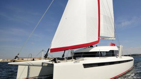 CMM YACHT - SWISS CAT S2C 45 : en navigation