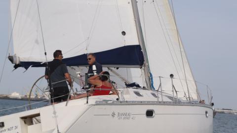 Sun Odissey 42.2 : En navigation