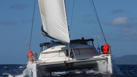 Fountaine Pajot Athena 38 : Navigation en Caraïbes