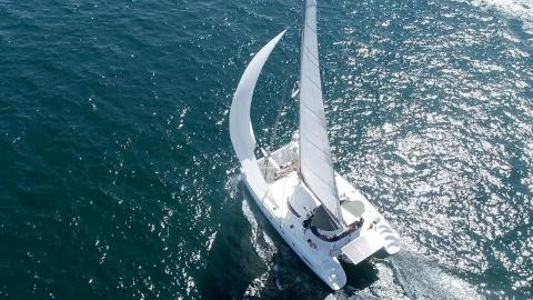 Fountaine Pajot Bahia 46: En navigation