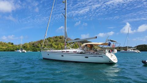 Bavaria 46 Cruiser: Au mouillage en Martinique