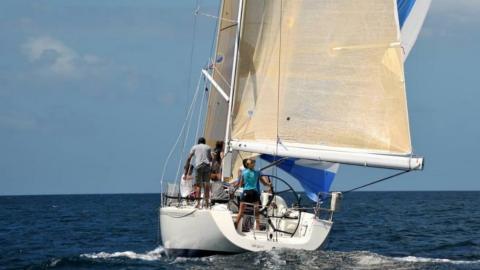X Yachts IMX 40 : En navigation