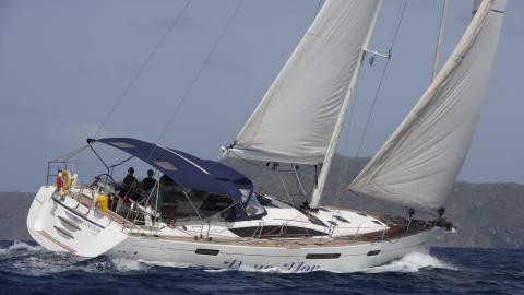Jeanneau 57: En navigation