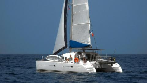 Lagoon 380: En navigation