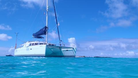 Lagoon 440: Mouillage en Caraïbes