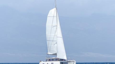 Nautitech 40 open : En navigation