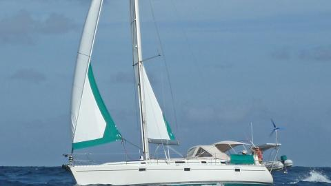Bénéteau Oceanis 400 : En navigation