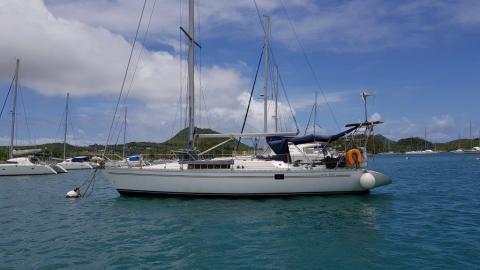 Jeanneau Sun Fizz : Mouillage du Marin en Martinique