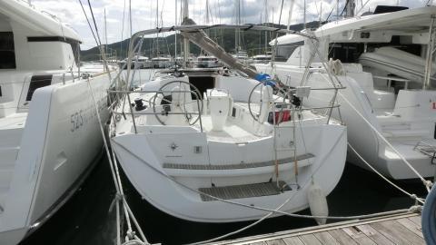 Sun Odyssey 42i: Vu depuis le ponton