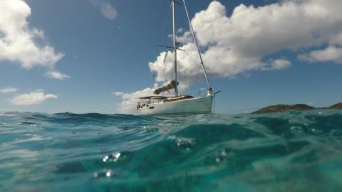 Jeanneau Sun Odyssey 49i : Au mouillage en Caraïbes