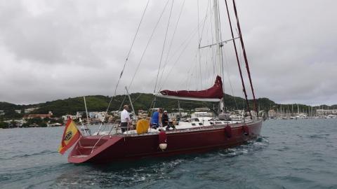 Vallicelli 65: Dans le chenal du Marin en Martinique