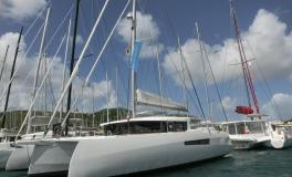 NEEL-TRIMARANS NEEL 47: Au ponton A&C Yacht du Marin