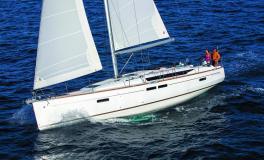Jeanneau Sun Odyssey 479 : Navigation au près bâbord amure