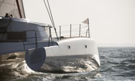 Neel Trimarans Neel 45 Evolution : Flotteur tribord