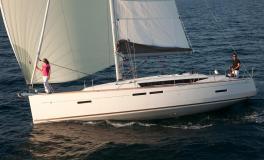 Jeanneau Sun Odyssey 419 : Navigation sous gennaker