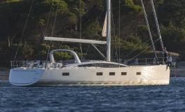 Jeanneau Yacht 64' : Au mouillage