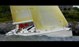 J Boats - J Composites J 133 en navigation