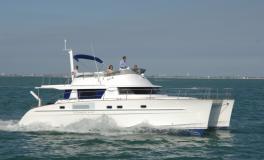 Trawler Catamarans Cumberland 46 : en navigation