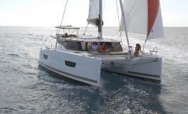 Lucia 40 en navigation