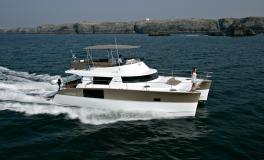 Fountaine Pajot Motor Yachts MY 47 en navigation