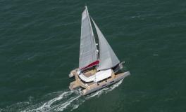 Neel Trimarans Neel 65 Evolution: En navigation
