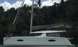 Fountaine Pajot Hélia 44 Maestro : Au mouillage en Caraïbes