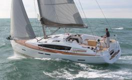 Jeanneau Sun Odyssey 41 DS : en navigation