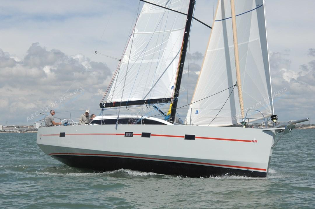 RM Yachts RM 1260 en navigation