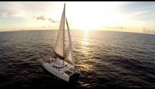 Lagoon 440 3 cabines: En navigation