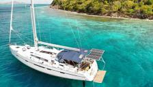 Bavaria 56 cruiser: Au mouillage en Caraïbes