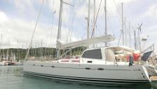 Hanse 531: En marina