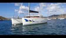 Lagoon 400 : Au mouillage en Martinique