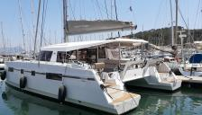 Nautitech 46 Open: En marina