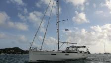 Bénéteau Oceanis 45 : Au mouillage en Martinique