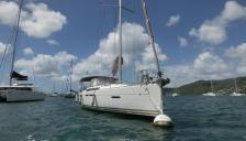 Jeanneau Sun Odyssey 409 : Sur corps mort en Martinique