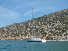 Bénéteau Oceanis 473 Clipper : Au Mouillage