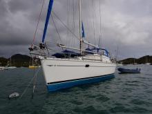 Sun Odyssey 40 DS: Au  mouillage en Martinique
