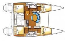 Lagoon 380: Plan d'aménagement