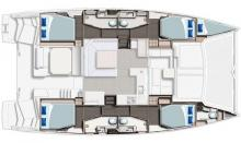 Leopard 45 :  Plan d'aménagement
