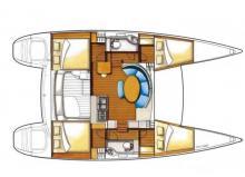 Lagoon 380 : Plan d'aménagement