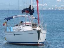 Mouillage de Sainte Anne en Martinique - Jeanneau Sun Odyssey 34.2, Occasion (2001) - Martinique (Ref 262)