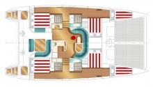 Nautitech 47: Plan d'aménagement