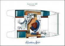 Lavezzi 40 Maestro: Plan d'aménagement