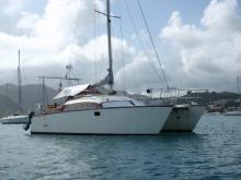 Au mouillage en Martinique - Sailcraft Comanche 32, Occasion (1982) - Martinique (Ref 267)